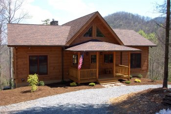 Builders know best log homes of america for Americas best home builders